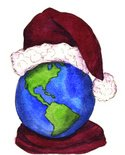 Christmas,Earth,Recycling,W...