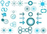 Circle,Spotted,Symbol,Sign,...