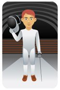 Fencing,Fencing Foil,Male,S...
