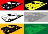 Pop Art,Car,Ford Thunderbir...
