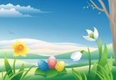 Easter,Nature,Daffodil,Sing...