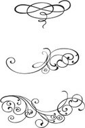 Scroll Shape,Curled Up,Deco...