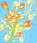 Tiger Lily,Design,Retro Rev...