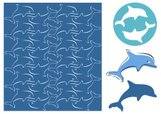 Dolphin,Sign,Pattern,Sparse...