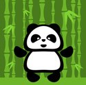 Panda,Cartoon,Bamboo,Vector...