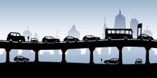 Traffic,Car,City,Silhouette...