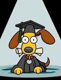 Dog,Graduation,Cartoon,Educ...