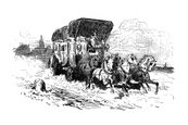Stagecoach,Carriage,Horse,I...