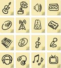 Symbol,Sketch,Icon Set,Musi...