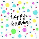 Birthday,Hand Lettering,Gre...