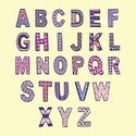 Alphabet,Ornate,Decoration,...