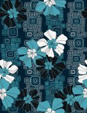 Pattern,Seamless,Flower,Hawai…