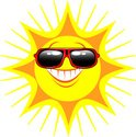 Sun,Sunglasses,Smiling,Sunl...