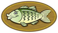 Fish,Cartoon,Mounted,Prepar...