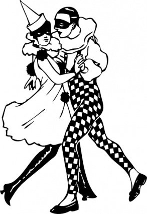 Harlequin Dancers