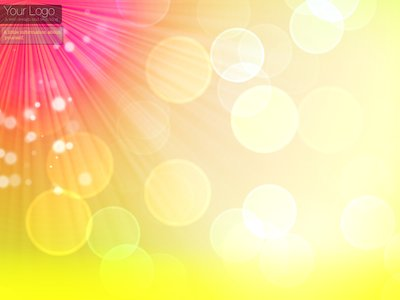 Colorful Bokeh Twitter Background and Wallpaper