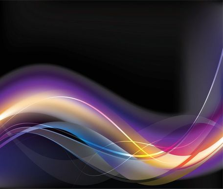Free Abstract Glowing Background Vector illustrations