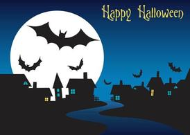 Grafica di Halloween Night