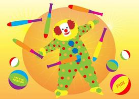 Clown illustratie