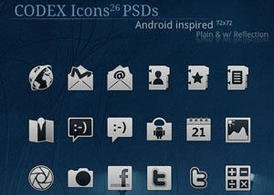 Codex icone per Android