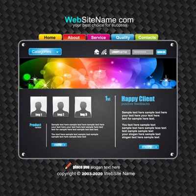 The trend of dynamic web template