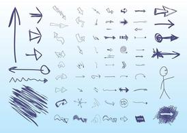 Hand Drawn Arrows