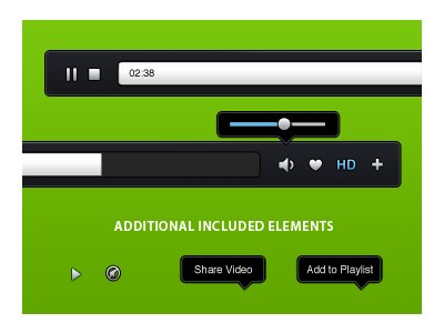 Video-Player [.PSD Source]