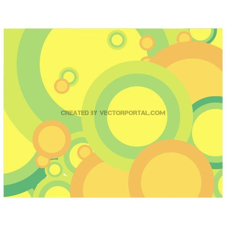 GREEN BUBBLES VECTOR BACKGROUND.ai