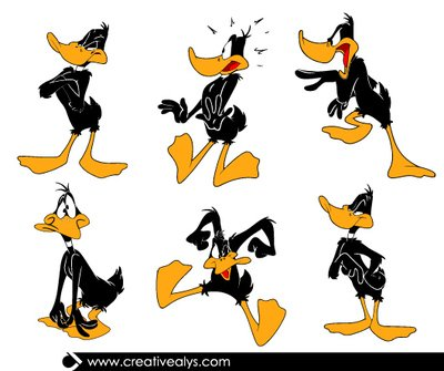 Funky Duck Daffy Cartoon Pack