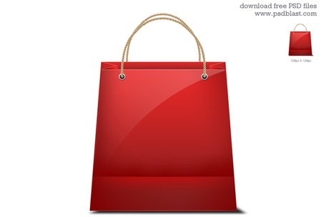 Shopping bag icona