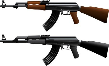 free ak47 machine gun clipart and vector graphics clipart me rh clipart me