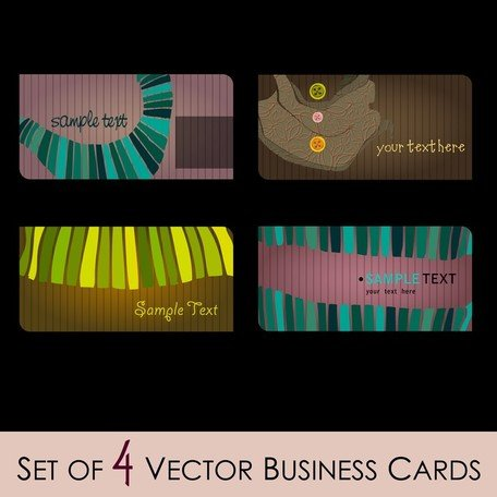 Illustratore di moda Business Card 01