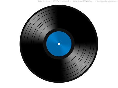 Report Browse gt; Music amp; Movie gt; PSD vinyl record icon