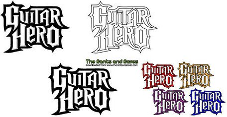 Guitar Hero Logo Vectorized