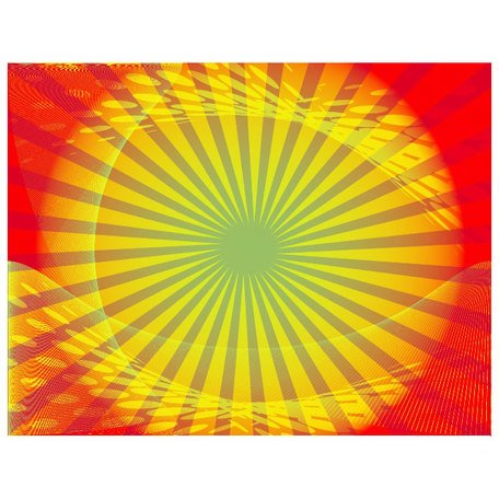 YELLOW SWOOSHES ON BRIGHT SUNBEAM BACKGROUND.ai