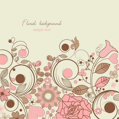 Elegant Floral Background