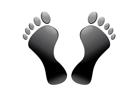 Free Footprints Vector Art