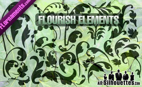 35 Vector Flourishes
