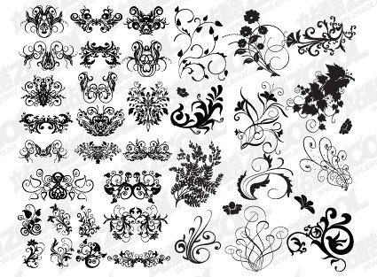 Pattern elements in a variety of practical