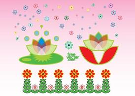 Exotic Flowers Graphics