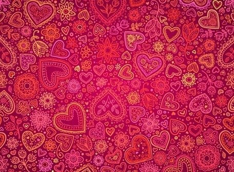 Red Heart Valentines Day Card Background Cliparts Clipartme – Valentine Card Background