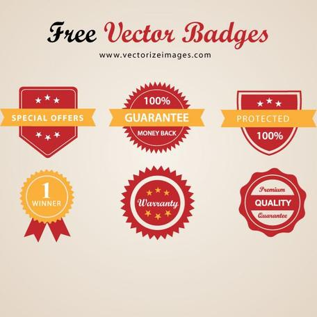 FREE VECTOR BADGES.eps