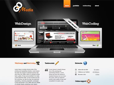 Web Design lay-out