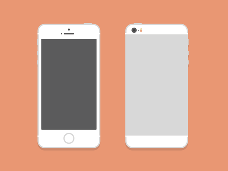 iPhone 5S (PSD)