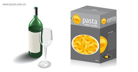 Glass bottles and food packaging
