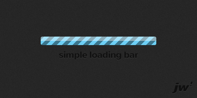 Simple loading bar