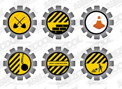 Road maintenance icon