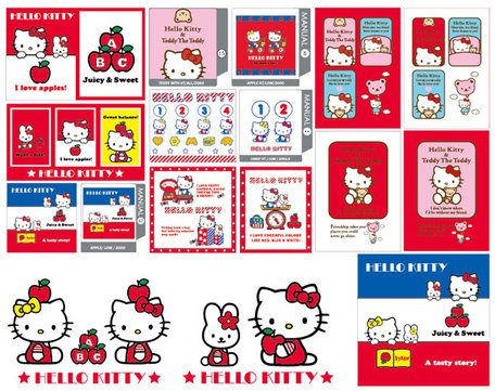 hello kitty resmi vektör 5/15/38 / 57