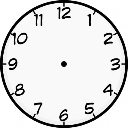 clock face clip art, free vector clock face - 739 graphics - clipart