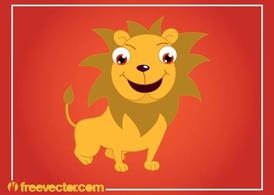 Cartoon Lion Graphics